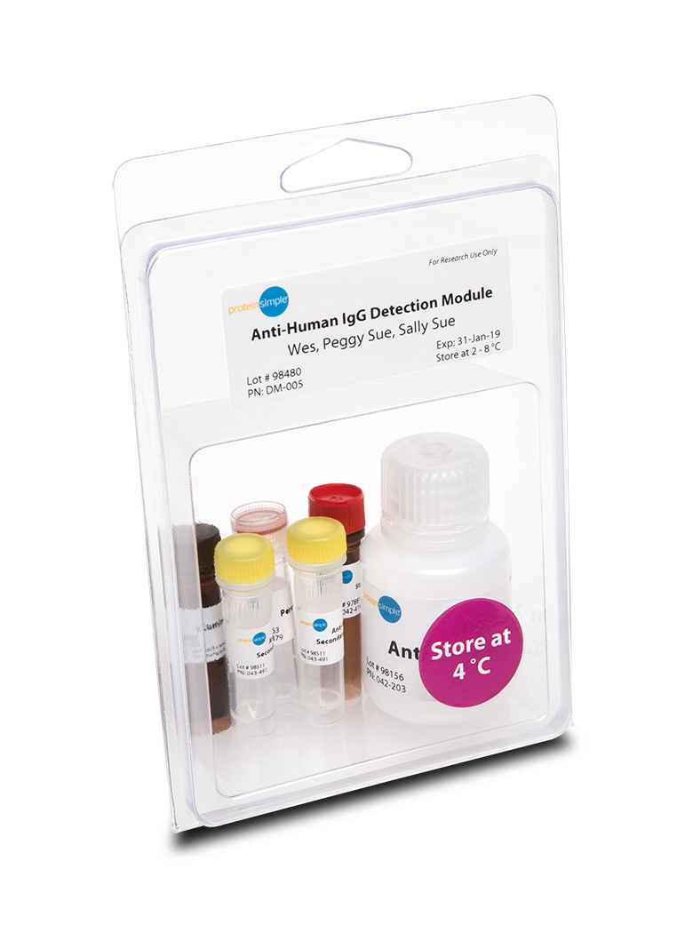 ProteinSimple Anti-Human IgG Detection Module for Jess, Wes, Peggy Sue or Sally Sue for Simple Western