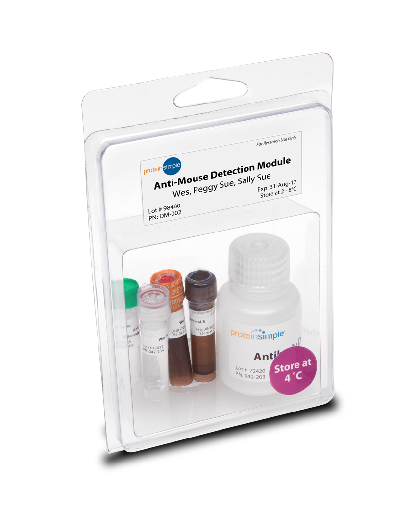 ProteinSimple Anti-Mouse Detection Module for Jess, Wes, Peggy Sue or Sally Sue for Simple Western