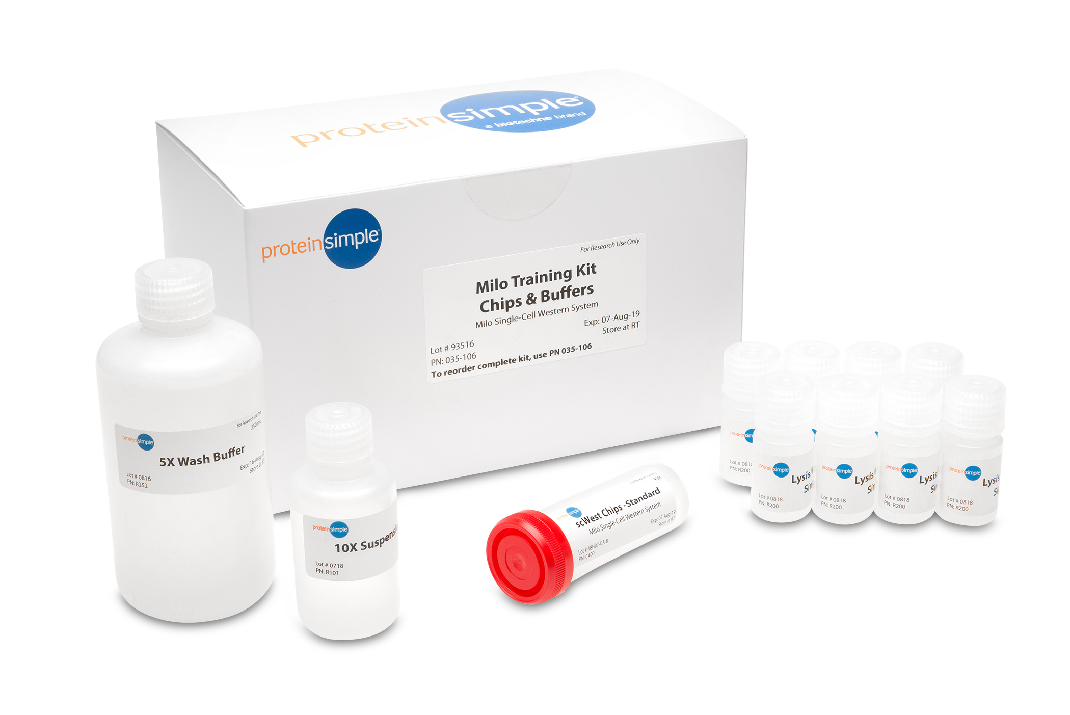 ProteinSimple Milo Training Kit for Single-Cell Western
